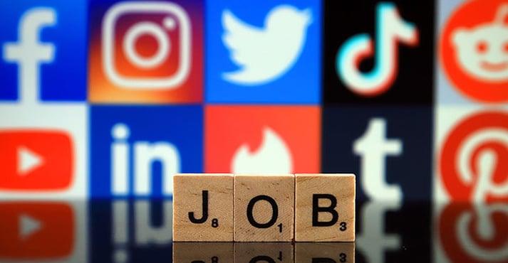Jobsuche in Social Media